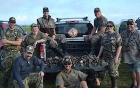 Louisiana Gulf Coast Teal Hunting