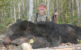 Milestone: Bob Robb Bags His 50th Black Bear
