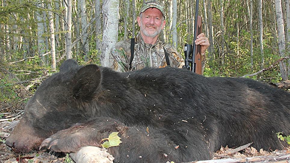 Milestone: Bob Robb Bags His 50th Black Bear