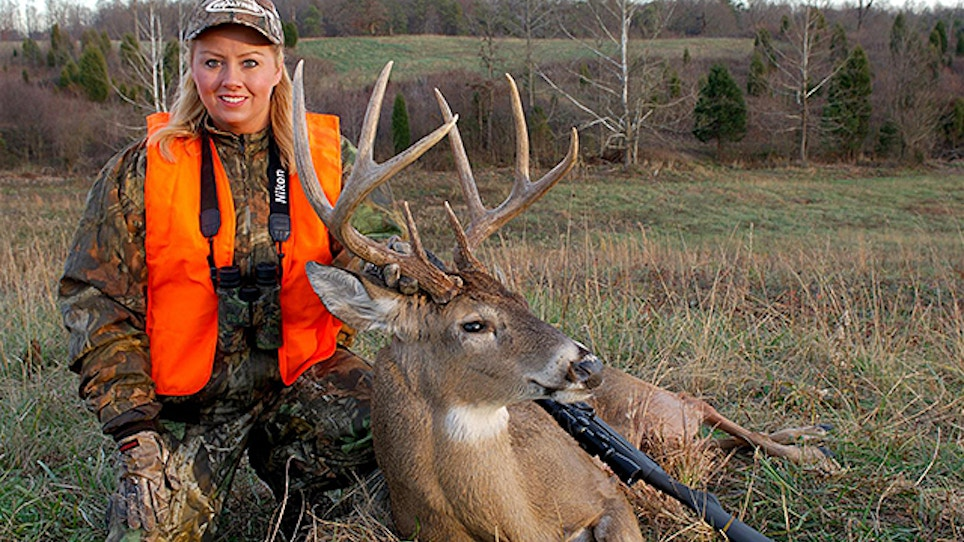 Will Legalizing 'Blaze' Pink Hunting Gear Bring More Women Into The Sport?