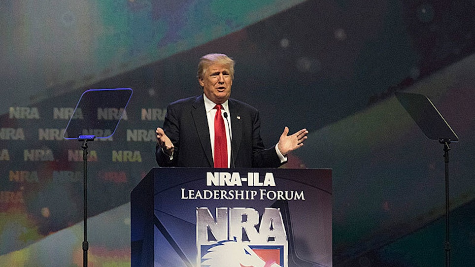 Why The NRA Endorsed Donald Trump For President