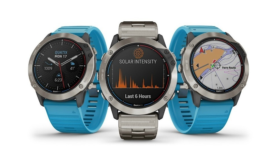 Garmin Solar Charging Marine GPS Smartwatch