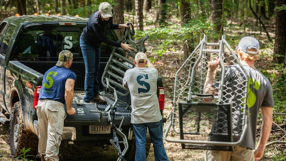 Use the Buddy System When Hanging Treestands