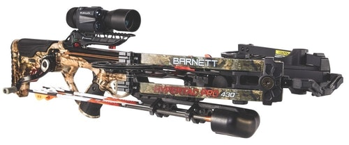 The 4x32 HyperX laser rangefinding scope from Halo Optics is value-priced with an MSRP of $499.