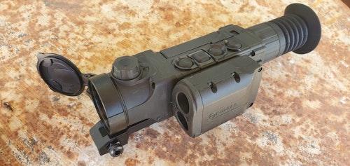 Pulsar Trail 2 LRF thermal imaging riflescope.