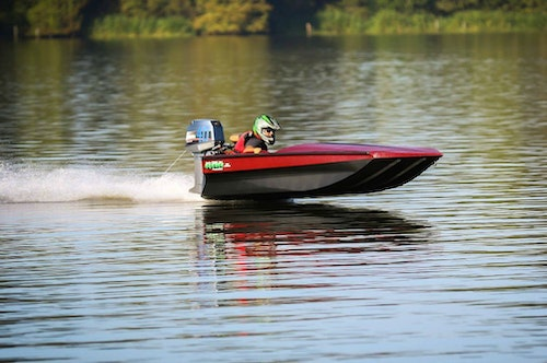 Havoc builds aluminum boats for hunters, anglers . . . and boat racers.