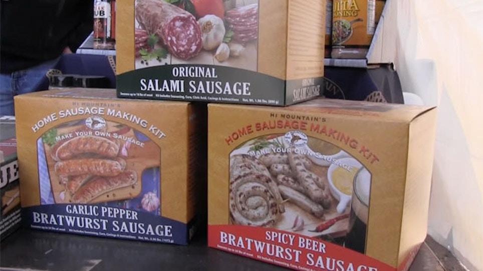 Homemade Wild Game Bratwurst And Salami With Hi Mountain Seasonings