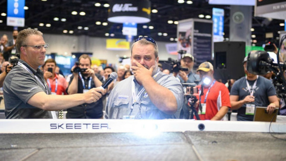 Deserving Vet/Fishing Mentor Surprised With Complete Boat Overhaul at ICAST 2019