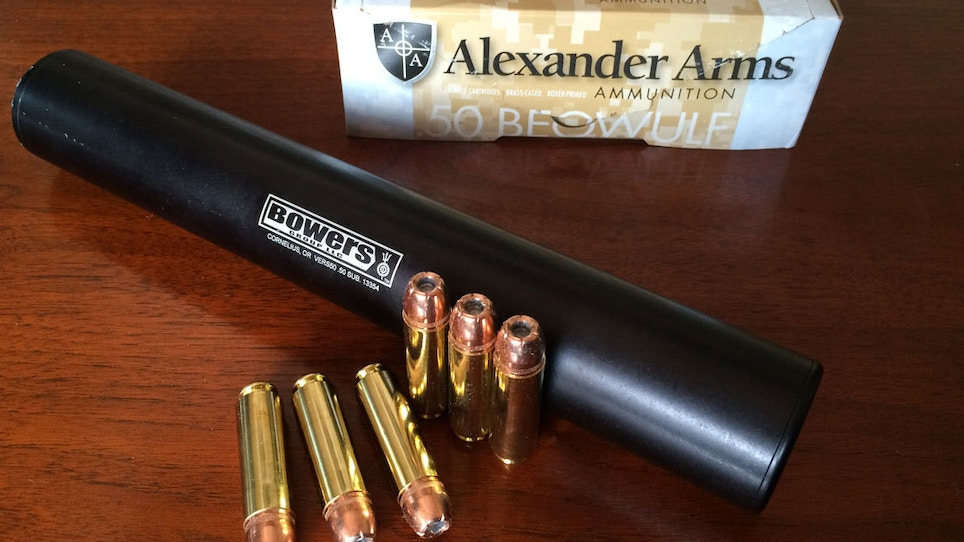 Video: Bowers VERS 50 Suppressor Review
