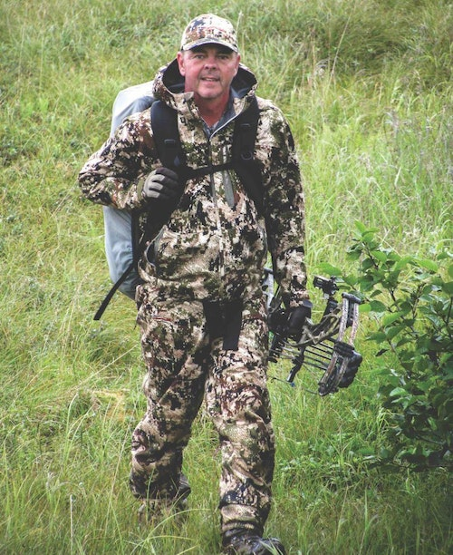 A stout backpack like Ron Niziolek's is essential for carrying survival gear, food, optics, and other day-use items. You'll also need it to transport up to 60 pounds of deer meat back to camp.