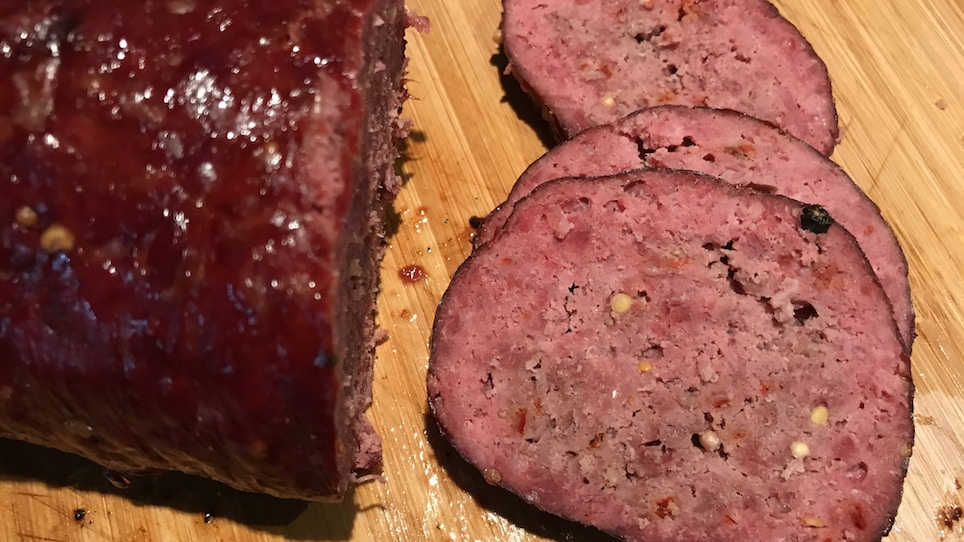 Make this easy spicy venison salami tonight. Or tomorrow. Just soon.