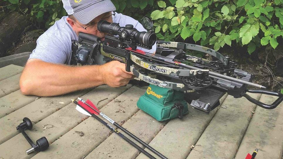 Crossbow Hunt Preparation