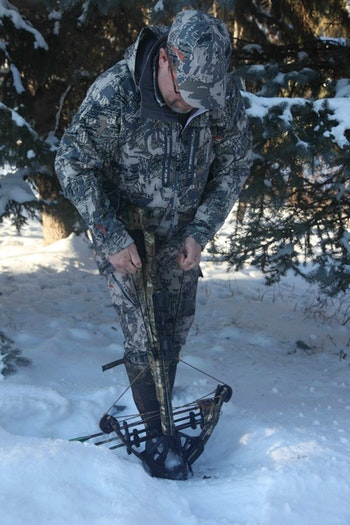 The only way to know for sure how your crossbow performs in less-than-ideal conditions is to test it.
