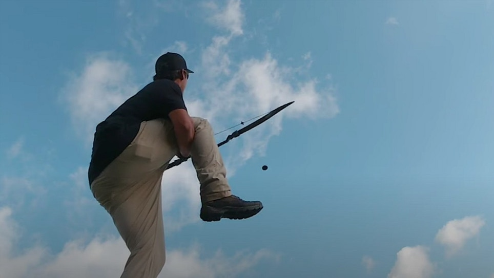 Video: Must-See Trick Shots From Traditional Archer James Jean