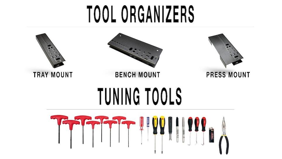 LCA Tuning Tools and Tool Organizer