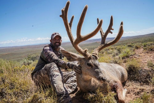 "A Utah giant has fallen! 191"" at 60 yards with Mathews Archery, Inc. VERTIX."