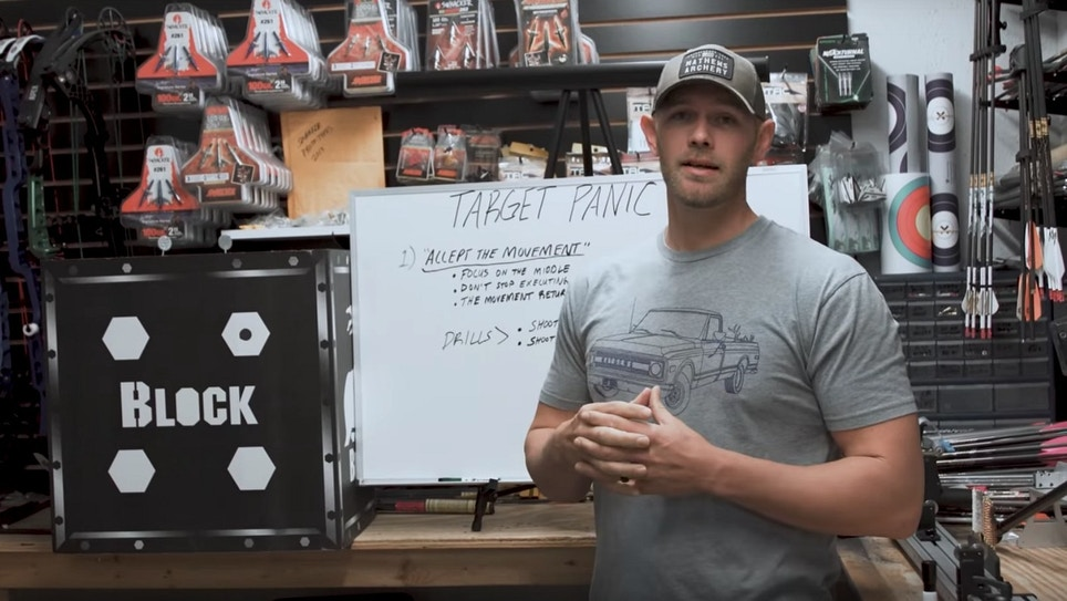 Video: Tips for Beating Target Panic From Levi Morgan (Part 1 of 4)