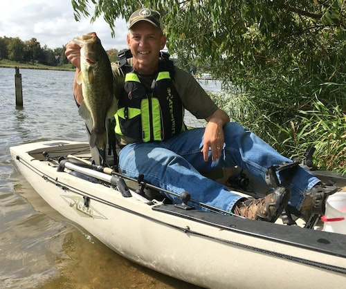 When it comes to finding unpressured fish, the author looks for lakes with carry-in-only access and then drops in a kayak.