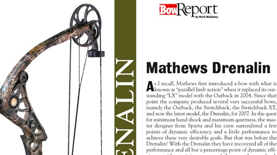 Bow Report: Mathews Drenalin