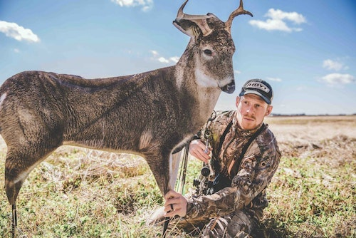 During the rut, even open-country whitetail bucks become susceptible to the ground hunter. A lightweight, portable decoy such as this one from Montana Decoy can be a useful tool for approaching a buck in wide-open terrain.