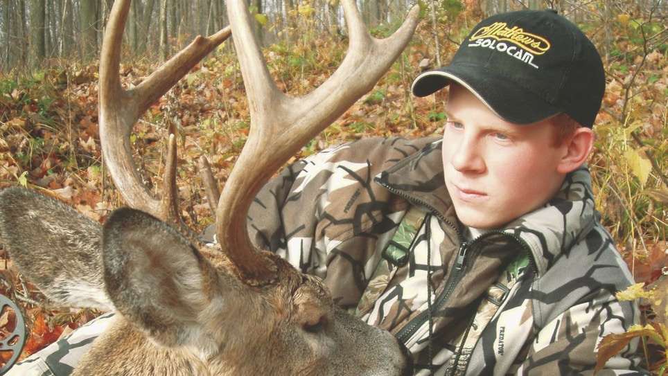 A Bowhunter's First Whitetail Buck