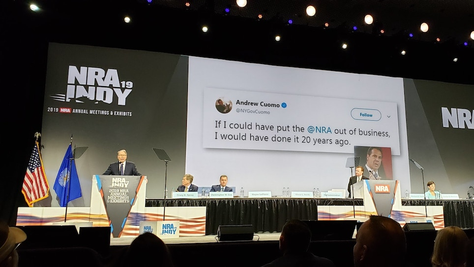 A Cheat Sheet to the NRA's Recent Lawsuit, Reported Turmoil