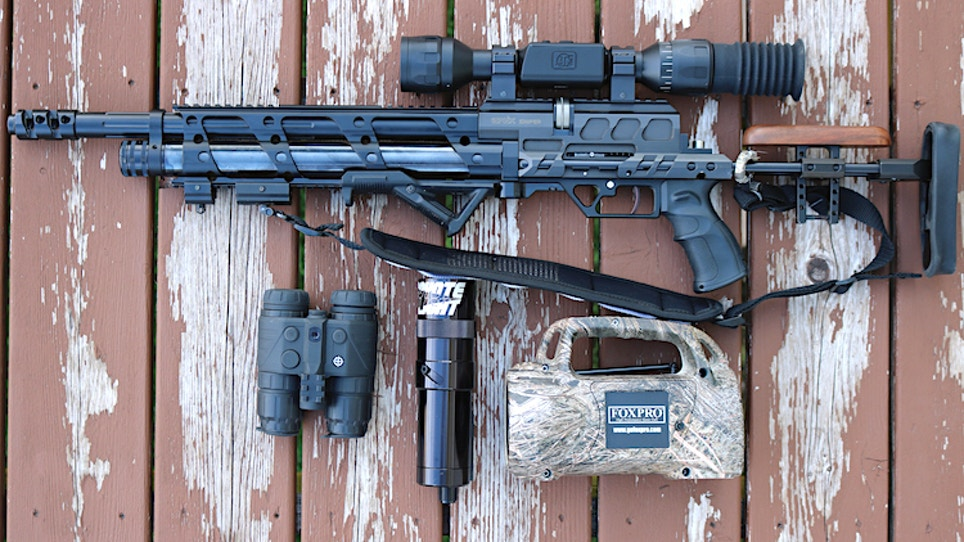 An Airgunner's Nighttime Hunting Kit