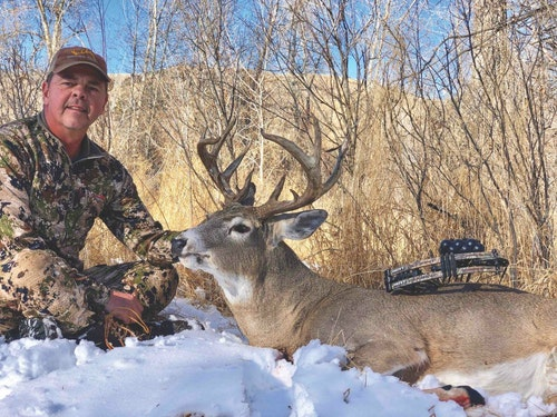 Bowhunter Ron Niziolek arrowed this mature buck in his home state of Wyoming, proving outstanding bucks can be had if you put forth the effort.