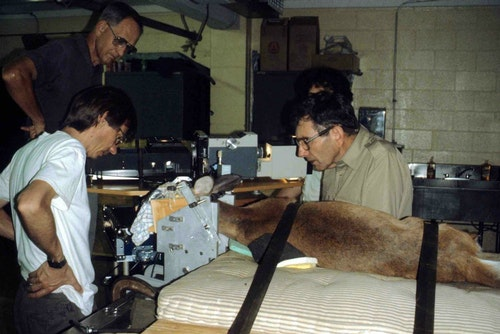 Several researchers collaborated to study whitetail deer vision at the University of Georgia.