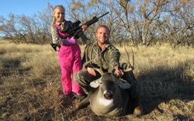 Father Treasures Daughter's First Deer Season