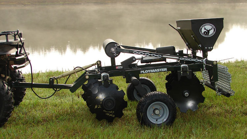 New food plot and land management products