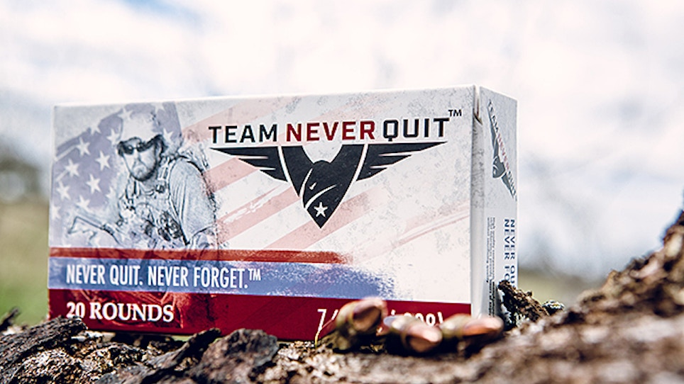 SEAL Marcus Luttrell Intros Signature Ammo Line