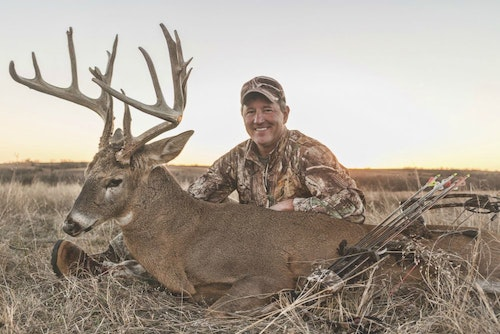 Frank Pappas of Colorado owns and leases land in Kansas, where he took this world-class whitetail in November 2016.