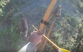Video: Big 10-Point Buck Arrowed With Self-Made Bow, Arrow and Broadhead