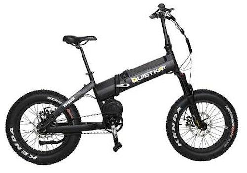QuietKat Voyager folding bike