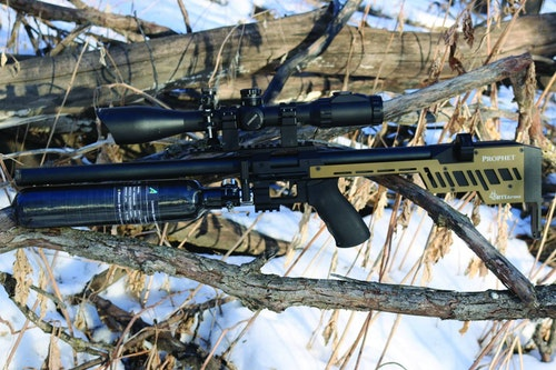 The RTI Arms Prophet excels at long range; the author found 100 yard targets with ease. (Photo: Jim Chapman)