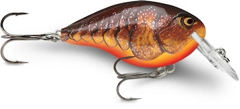 Rapala DT4 in Dark Brown Crawdad