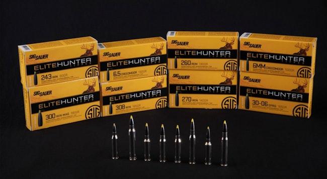 Sig Sauer Elite Hunter Tipped Ammunition