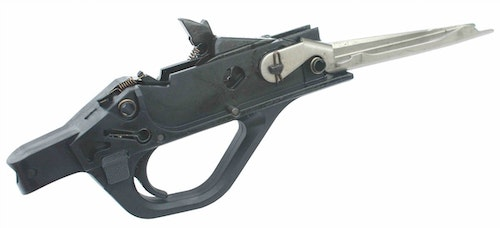 The trigger group is quickly and easily removed for cleaning or maintenance.