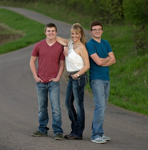 The founders of H4C (left to right): Jaden, Dana and Justin Sacia.