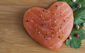 Heart Healthy: Poached Salmon with Champagne Cream Sauce