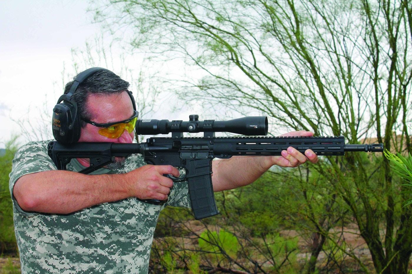 Predator Gun Review: Savage MSR 15 Recon   Grand View Outdoors
