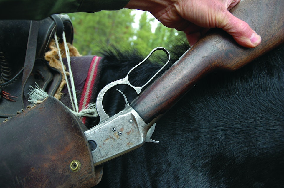 Saddle-friendly and quick to cheek from any position, traditional lever rifles are fun and easy to use
