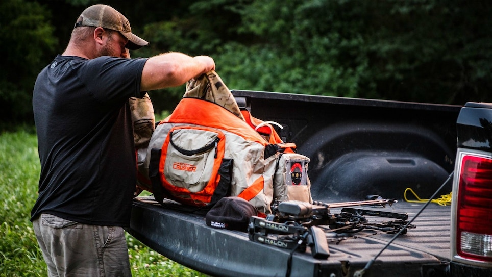Two Odor-Destroying Ozone Duffels