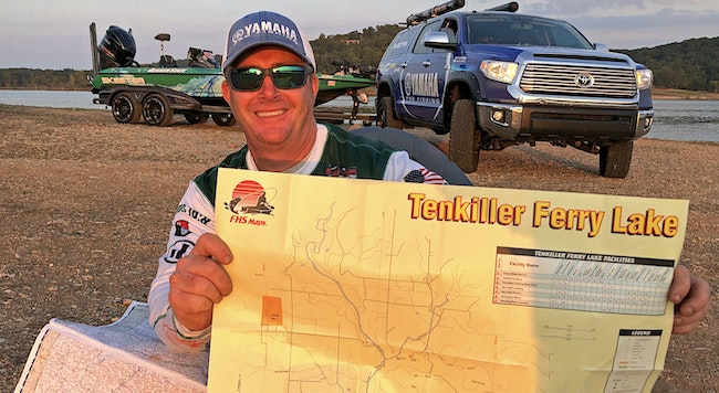 Bass Tip: How To Find Fish on New Lakes