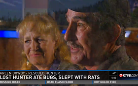 Lost Hunter Says He Ate Bugs While Missing In Boise County