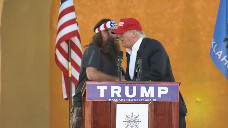 VIDEO: Did Willie Robertson Just Support Donald Trump?