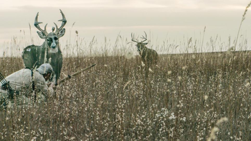 Ground Stalking Whitetail Deer