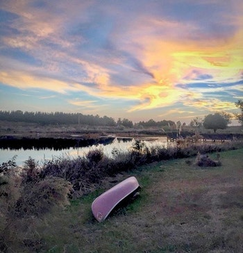 Here's what makes the farm pond great: You sit with plenty of open space to make your tight loop (or not so tight loop) and sip your beer methodically — no current, no drift. Photo: Amy Hatfield