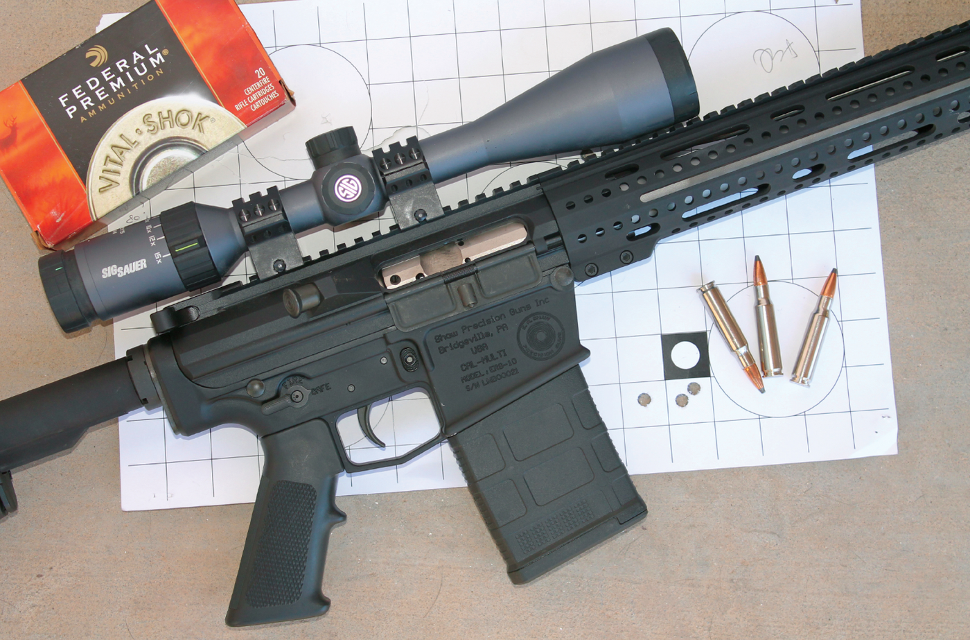 Shaw ERS-10: 6 5 Creedmoor or  308 Win  | Grand View Outdoors